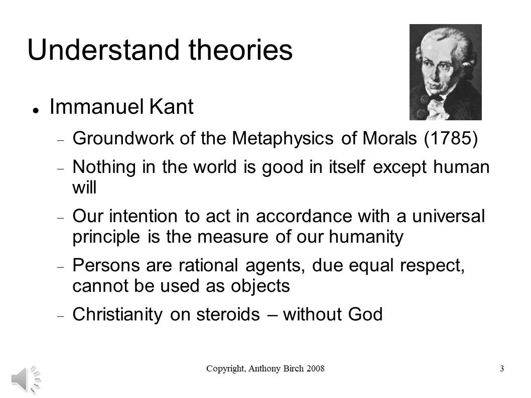 Immanuel Kant Overview